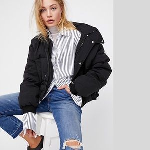 Free  People New slouchy puffer Jacket NWT